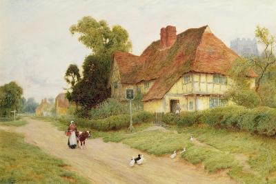 The Village Inn-Arthur Claude Strachan-Giclee Print