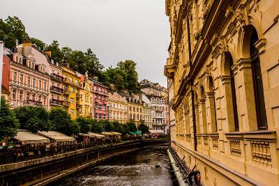 The Village of Karlovy Vary, Bohemia, Czech Republic, Europe-Laura Grier-Photographic Print