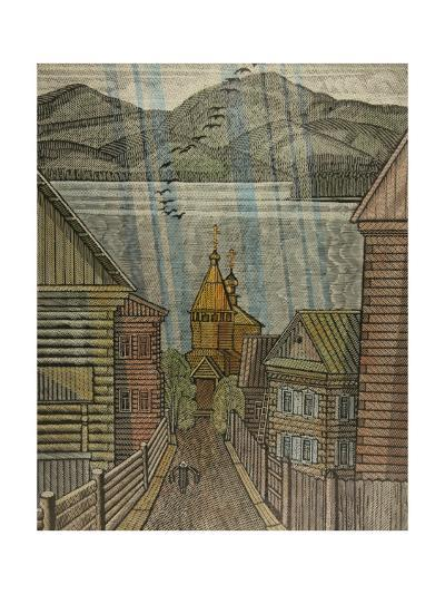 The Village of Listvyanka, 1984-Masabikh Akhunov-Giclee Print