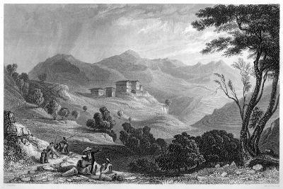 The Village of Naree, India, C1860-MJ Starling-Giclee Print