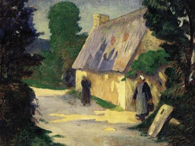The Village Path, 1890-Eug?ne Boudin-Giclee Print
