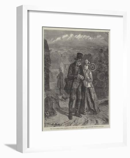 The Village Postman, 'Nothing, I'm Afraid, This Morning, Miss'-William Hemsley-Framed Giclee Print