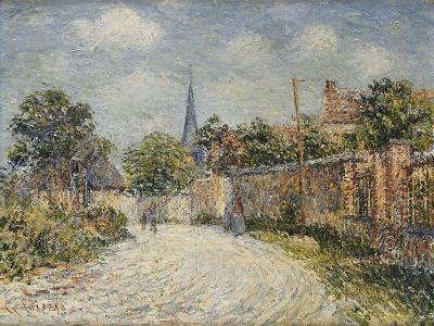 The Village Street; La Rue De Village-Gustave Loiseau-Giclee Print