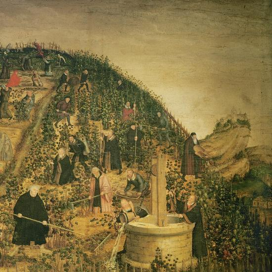 The Vineyard of the Lord, 1569 (Detail)-Lucas Cranach the Younger-Giclee Print