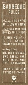 Barbeque Rules by The Vintage Collection