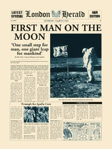 First Man On The Moon by The Vintage Collection