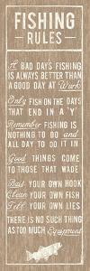 Fishing Rules by The Vintage Collection