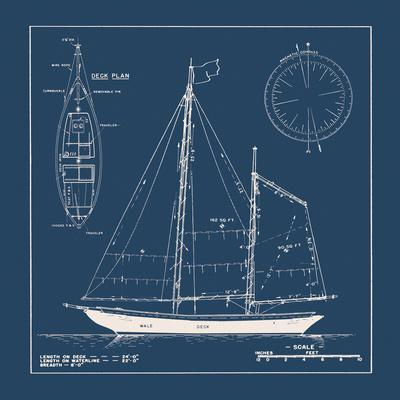 Nautical Blueprint II