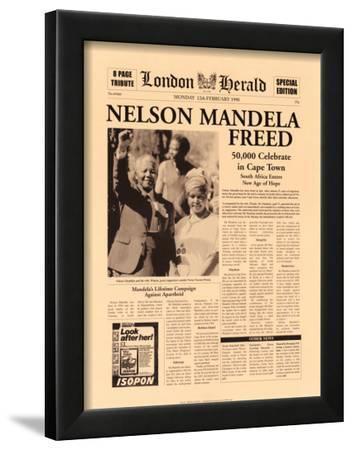 Nelson Mandela Freed