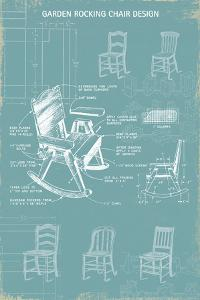 Rocking Chair Blueprint by The Vintage Collection