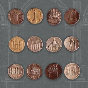 Roman Coins I by The Vintage Collection