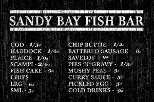 Sandy Bay Fish Bar by The Vintage Collection
