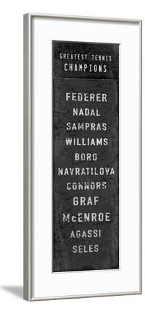 The Greatest Tennis Champions