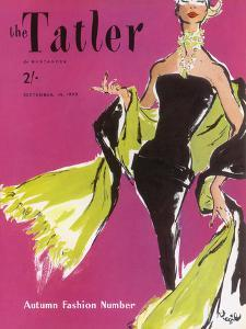 The Tatler, September 1955 by The Vintage Collection