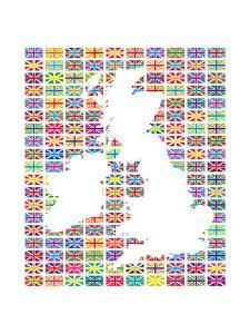 Union Flags II by The Vintage Collection