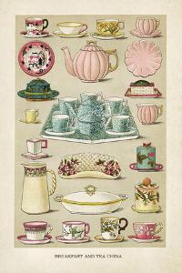 Vintage Breakfast China by The Vintage Collection