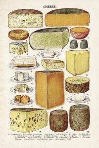 Vintage Cheese by The Vintage Collection