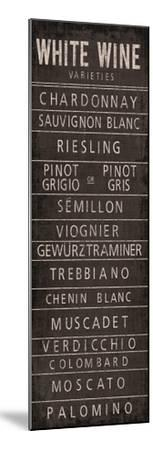 Wine Varieties II by The Vintage Collection