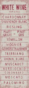 Wine Varieties IV by The Vintage Collection