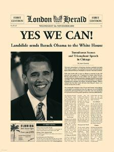 Yes We Can! by The Vintage Collection