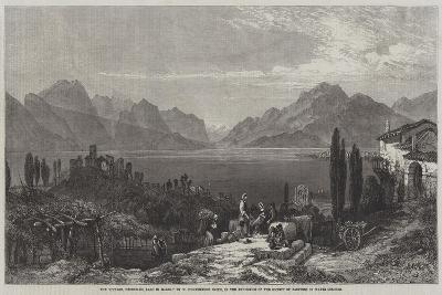 The Vintage, Desenzano, Lago Di Garda-William Harding Collingwood-Smith-Giclee Print
