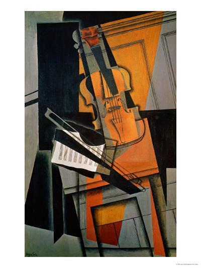 The Violin, 1916-Juan Gris-Giclee Print