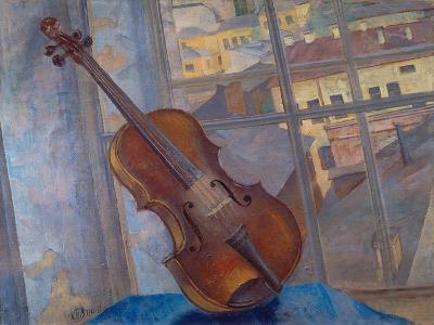 The Violin, 1918-Kosjma Ssergej Petroff-Wodkin-Giclee Print
