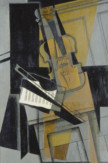 The Violin (Le Violon), 1916-Juan Gris-Giclee Print