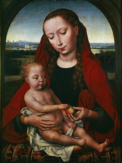 The Virgin and Child, 1480-1490-Hans Memling-Giclee Print