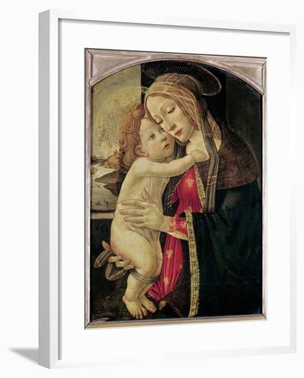 The Virgin and Child, c.1500-Sandro Botticelli-Framed Giclee Print