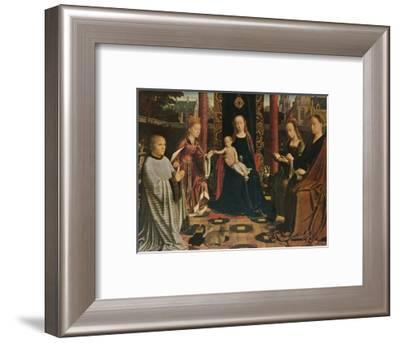 'The Virgin and Child with Saints and Donor', 1510, (1909)-Gerard David-Framed Giclee Print
