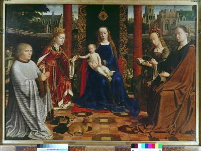 The Virgin and Child with Saints and Donor, 1523-Gerard David-Giclee Print