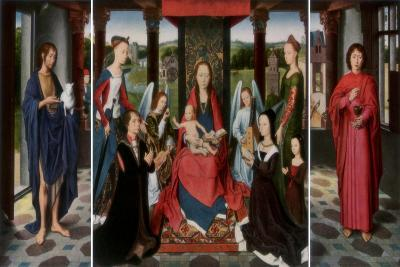 The Virgin and Child with Saints and Donors (The Donne Triptyc), C1478-Dirck Bouts-Giclee Print