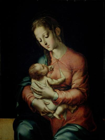 The Virgin and Child-Luis De Morales-Giclee Print