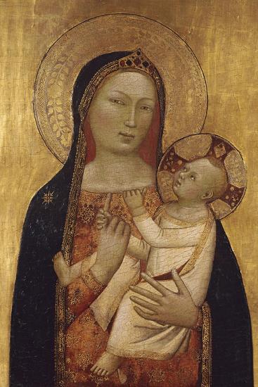 The Virgin and Child-Bernardo Daddi-Giclee Print