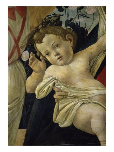 The Virgin and the Infant Surrounded by Angels-Sandro Botticelli-Giclee Print