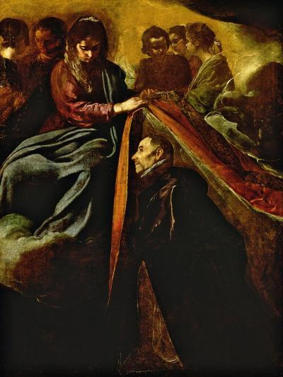 The Virgin Appearing to St Ildephonsus and Giving Him a Robe-Diego Velazquez-Giclee Print