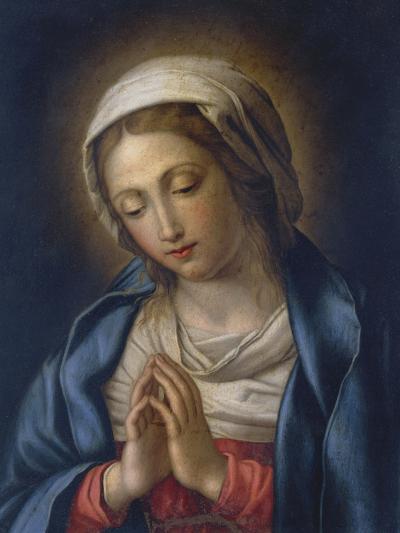 The Virgin at Prayer-Giovanni Battista Salvi da Sassoferrato-Giclee Print