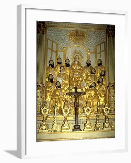 The Virgin Mary and Apostles--Framed Giclee Print