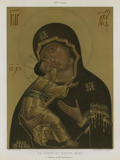 The Virgin Mary with the Baby Jesus--Giclee Print