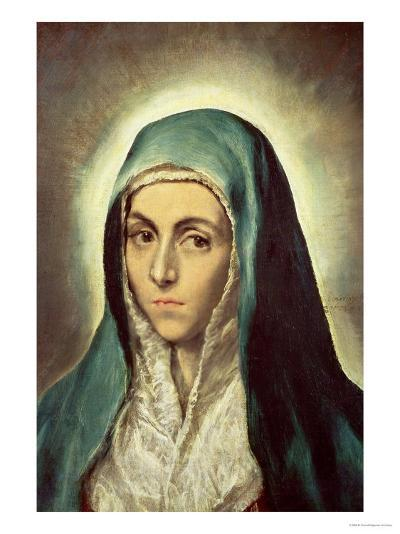 The Virgin Mourning-El Greco-Giclee Print