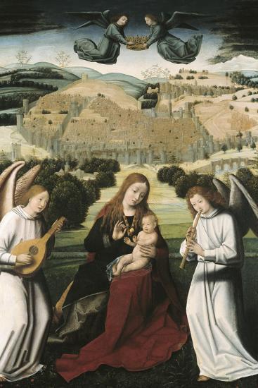 The Virgin of Granada-Petrus Christus-Art Print