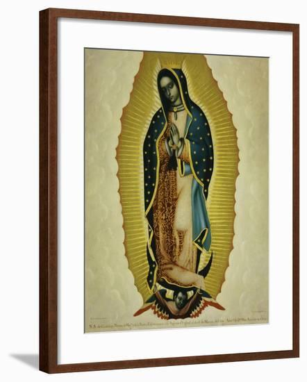 The Virgin of Guadaloupe, 1766-Miguel Cabrera-Framed Giclee Print