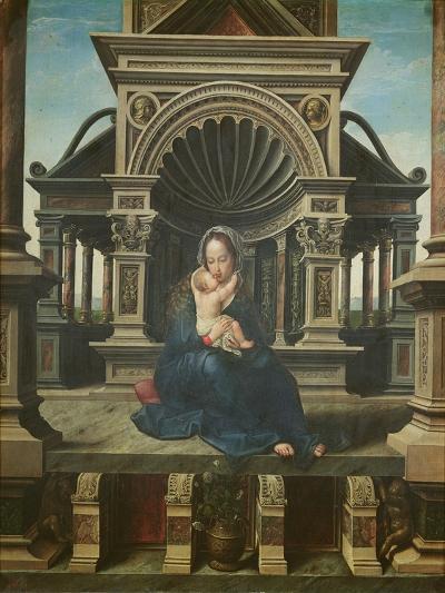 The Virgin of Louvain-Peter Mabuse-Giclee Print