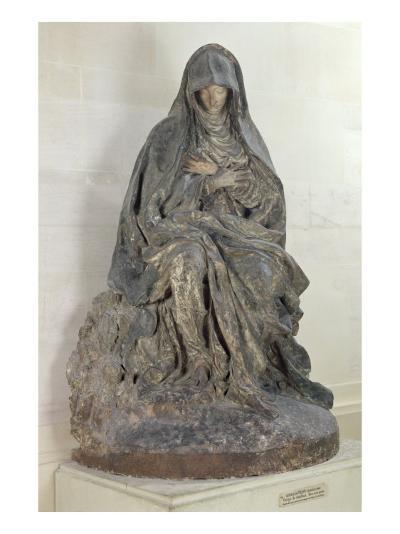 The Virgin of Sorrow-Germain Pilon-Giclee Print