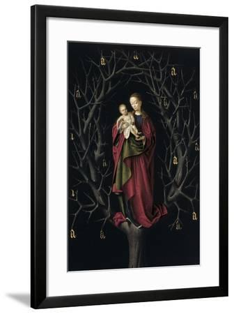 The Virgin of the Dry Tree, Ca 1465-Petrus Christus-Framed Giclee Print
