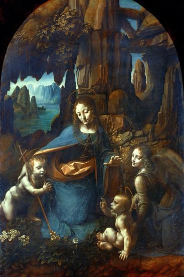 The Virgin of the Rocks, 1491-1519-Leonardo da Vinci-Giclee Print