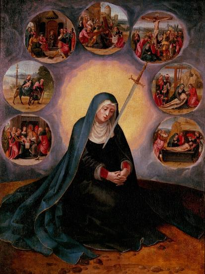 The Virgin of the Seven Sorrows--Giclee Print