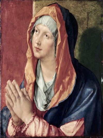 The Virgin Praying-Albrecht D?rer-Giclee Print
