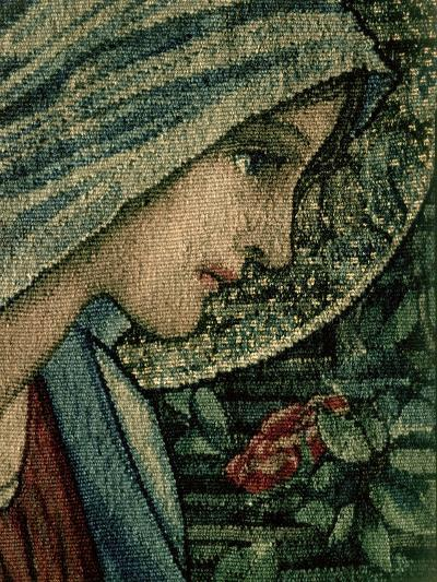 The Virgin's Face, Detail from the Adoration of the Magi, William Morris and Co. Merton Abbey-Burne-Jones & Morris-Giclee Print